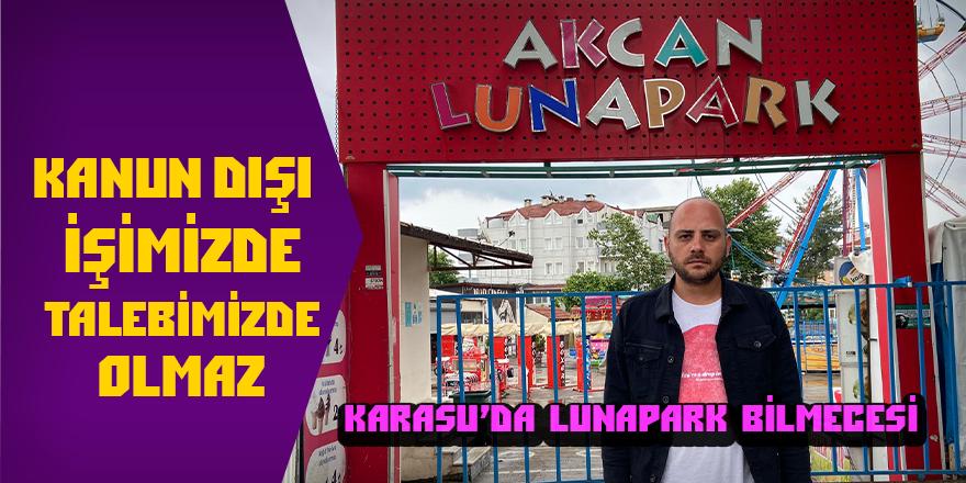 Karasu'da Lunapark Bilmecesi