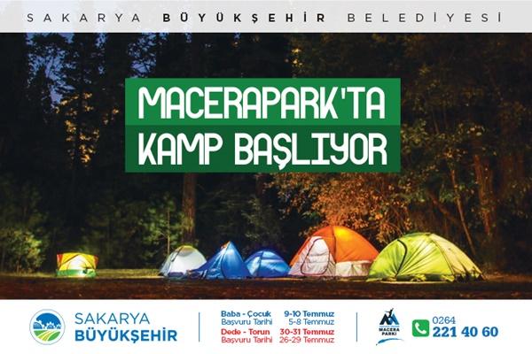 Sakarya'da Kamp Başlıyor