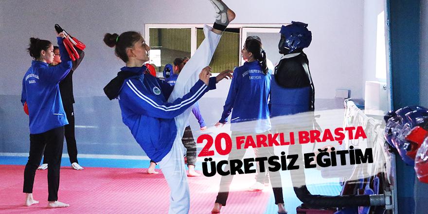Büyükşehir'le Spor Dolu Bir Yaz