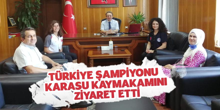 Türkiye Şampiyonundan Ziyaret