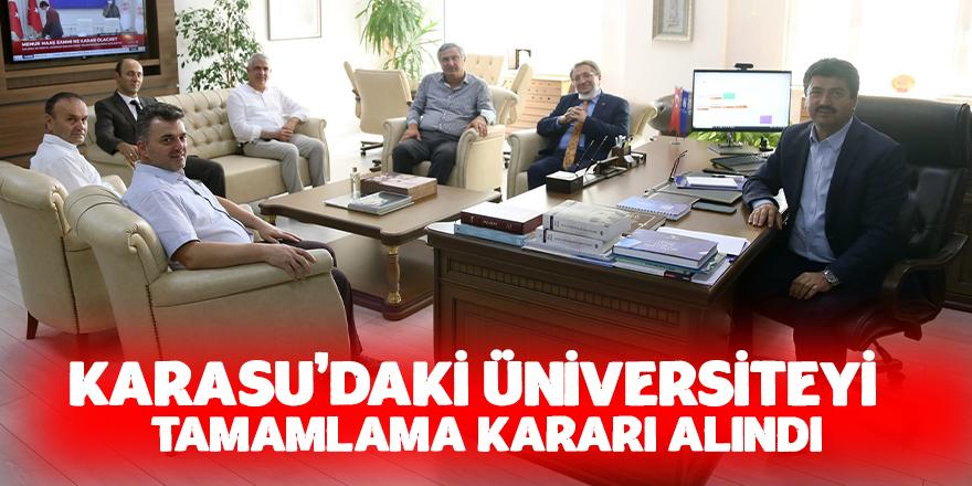 Karasu'dan SUBÜ Rektörüne Ziyaret