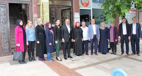 Ak Parti'de Milletvekili Adayları Ziyaretlere Devam Ediyor