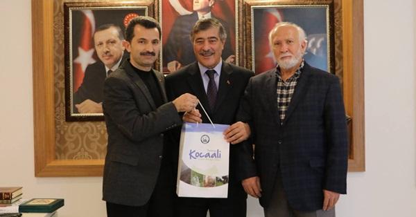 Bekircan'dan Başkan'a veda ziyareti