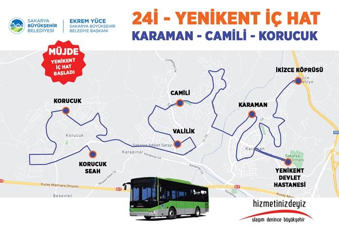 Otobüs hattı hizmete başladı