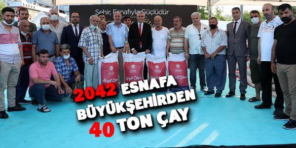 Büyükşehir'den Esnafa Destek