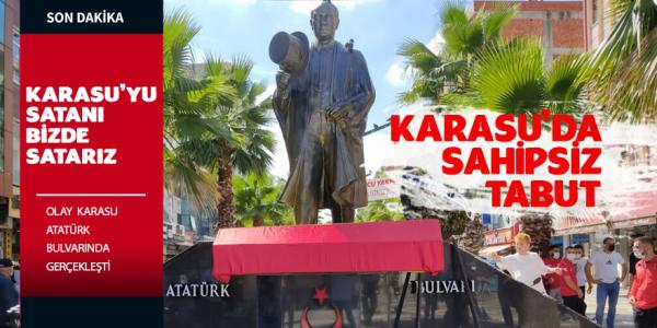 Karasu'da Sahipsiz Tabut
