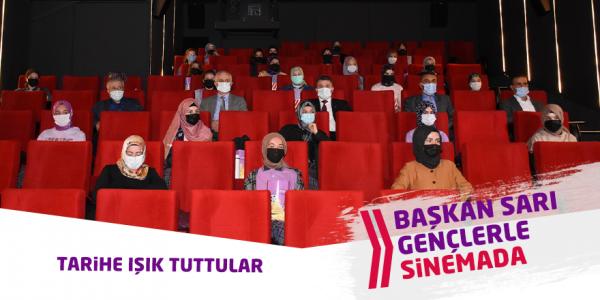 Gençlerle Sinemada Buluştu