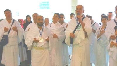 Kabe'de Mehmetçik İçin Dua Etti