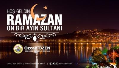Özen'den Ramazan-ı Şerif Mesajı
