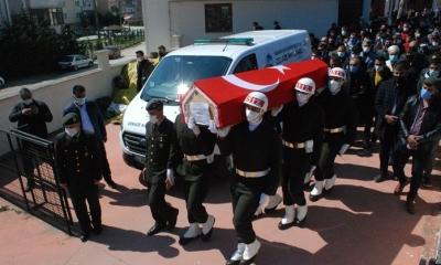 Son Yolculuğuna Askeri Törenle Uğurlandı